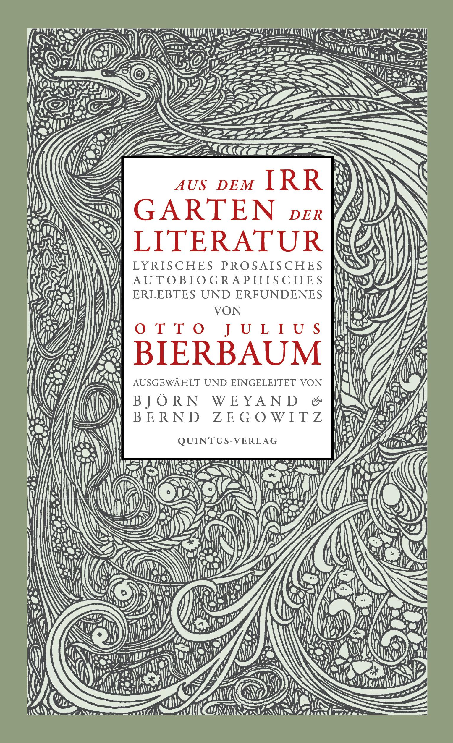 Aus dem Irrgarten der Literatur