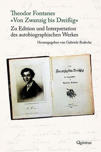 """Theodor Fontanes """"Von Zwanzig bis Dreißig"""""""